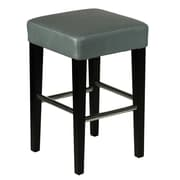 Cortesi Home 24'' Bar Stool; Grey