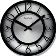 FirsTime 8'' Steel Wall Clock