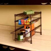 Seville Classics Stackable Kitchen Cabinet Organizer