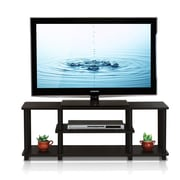 Furinno Turn-N-Tube TV Stand; Walnut/Black