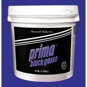 Weber Art Prima Black Gesso Gallon