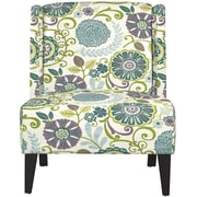 angelo:HOME Barton Wingback Chair; Summertime Purple