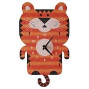 Modern Moose Tiger Pendulum Wall Clock