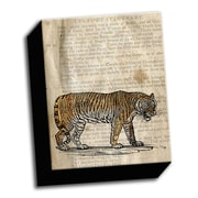 Picture it on Canvas Etching on Paper Tiger Sketch Graphic Art on Wrapped Canvas