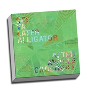 Picture it on Canvas Word Art Alligator Quote Graphic Art on Wrapped Canvas
