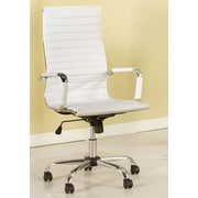Hokku Designs Dorynn High-Back Office Chair with Casters; Gray