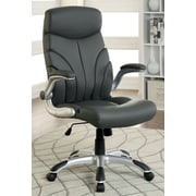 Hokku Designs Carey High-Back Office Chair with Casters
