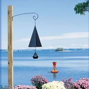 North Country Wind Bells Wilderness Pointed Fir of the North Wind Bell with Buoy Windcatcher