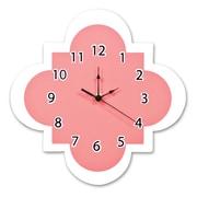Trend Lab Cocoa Coral 11'' Quatrefoil Wall Clock