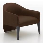 Argo Furniture Murcia Dinella Lounge Chair; Leather Bronze