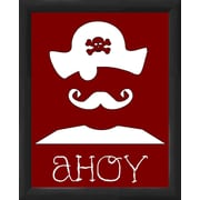 PTM Images Pirate Flag Framed Graphic Art
