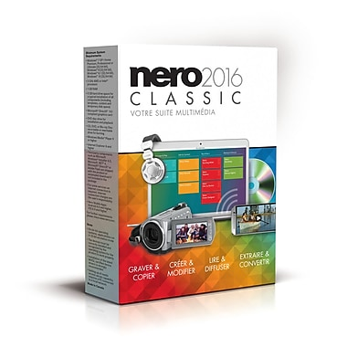 Nero 2016 Classic Multimedia Suite, Bi-Lingual, 1-User