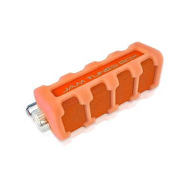 Pyle – Haut-parleur Bluetooth portatif étanche et robuste, orange