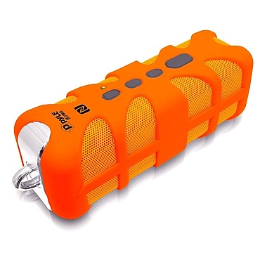 Pyle Rugged Splash-Proof Marine Grade Portable Bluetooth Speaker, Orange