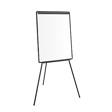 MasterVision Lightweight Tripod Style Dry Erase Easel with Extension Arms, 29
