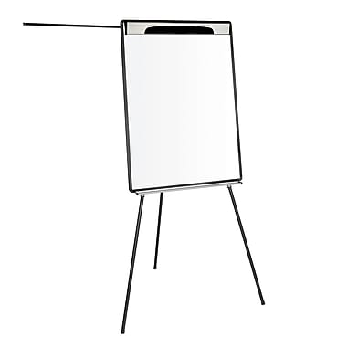 MasterVision Design Magnetic Dry Erase Tripod Presentation Easel with Extension Arms, Black 29
