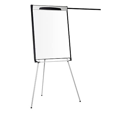 MasterVision Premium Magnetic Dry Erase Tripod Presentation Easel with Extension Arms 29