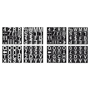 MasterVision Magnetic Set of Letters, Numbers & Symbols 1
