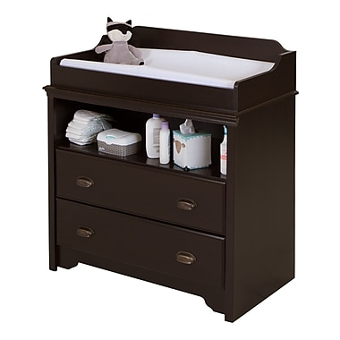 South Shore Fundy Tide Changing Table, Espresso, 35.5