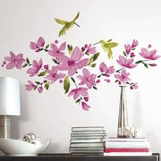 Room Mates 35 Piece Flowering Vine Peel and Stick Wall Decal Set