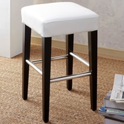 Cortesi Home Aspen 24'' Bar Stool with Cushion
