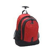 Olympia Rolling Backpack; Red