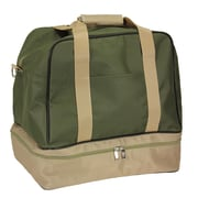 Household Essentials 16.5'' Weekender Bag; Olive