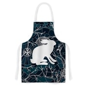 KESS InHouse Hare by Anchobee Artistic Apron