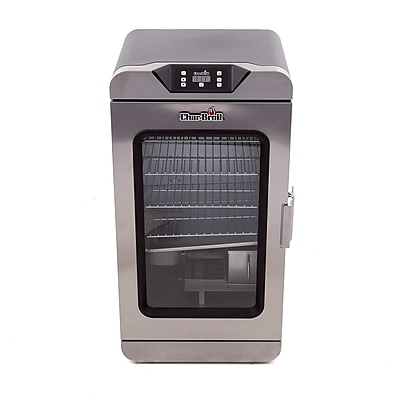 CharBroil Deluxe 1000 sq in Digital Electricity Smoker WYF078278022310