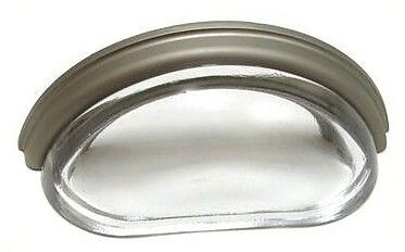 Richelieu 3'' Center Cup/Bin Pull; Mat Nickel WYF078278019862