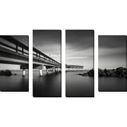 FramedCanvasArt 'Centreville' by Dave MacVicar 4 Piece Photographic Print on Wrapped Canvas Set