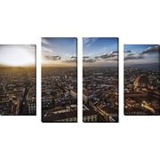 FramedCanvasArt 'Florence' by Giuseppe Torre 4 Piece Photographic Print on Wrapped Canvas Set