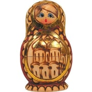 G Debrekht Russian 5 Piece Cathedral Nested Doll Set