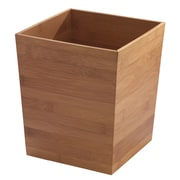 InterDesign Formbu Bamboo Waste Basket