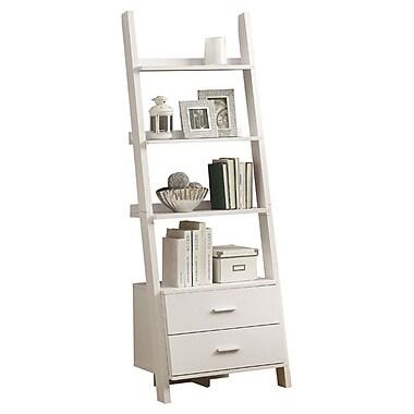 Monarch Specialties Inc. Ladder 69'' Accent Shelves