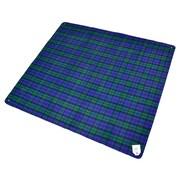 Creswick Billabong Waterproof Outdoor Picnic Blanket with Rubber Back; Blackwatch