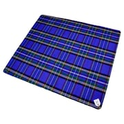 Creswick Billabong Waterproof Outdoor Picnic Blanket with Rubber Back; Blue Stewart