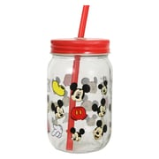 R Squared Disney Mickey Scattered Mason Jar (Set of 8)