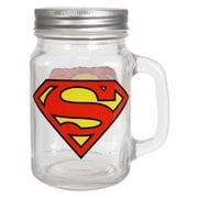R Squared Warner Bros. Superman Logo Mason Jars (Set of 6)