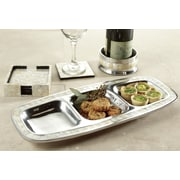 St. Croix Kindwer Divided Oval Serving Tray