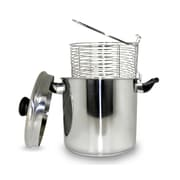 Cook Pro 5.7 Liter Stainless Steel Stove Top Deep Fryer
