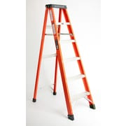 Michigan Ladder 4.15 ft Fiberglass Step Ladder w/ 300 lb. Load Capacity