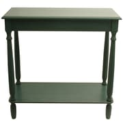 J. Hunt Home Simplify Console Table; Antique Teal