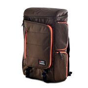 Olympia Einstein 20'' Backpack; Chocolate Brown