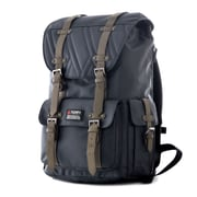 "Olympia Hopkins 18"" Backpack; Chocolate Gray"