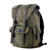 "Olympia Hopkins 18"" Backpack; Olive"