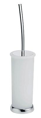 Artos Lulay Vetrilite Free Standing Toilet Brush and Holder; Chrome WYF078276714101