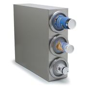 Carlisle Food Service Products Cabinet with 3 Cup Dispenser