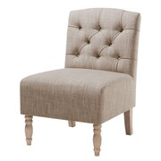 Madison Park Madison Park Lola Tufted Slipper Chair