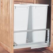 Rev-A-Shelf 22.94'' Double 50 Quart Pullout Waste Container